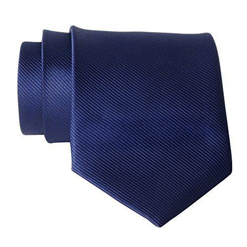 Qbsm cravatta uomo 8 cm di larghezza
