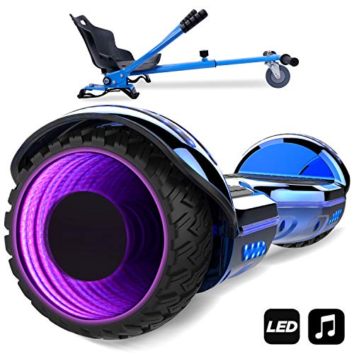 MARKBOARD Hoverboard SUV 6.5 Pouces, Gyropode Tout-Terrain...