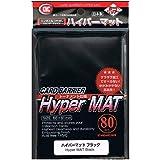 KMC KMC1508 - Hyper matt-schwarze Hüllen für Turnierspiele, 80 Stück