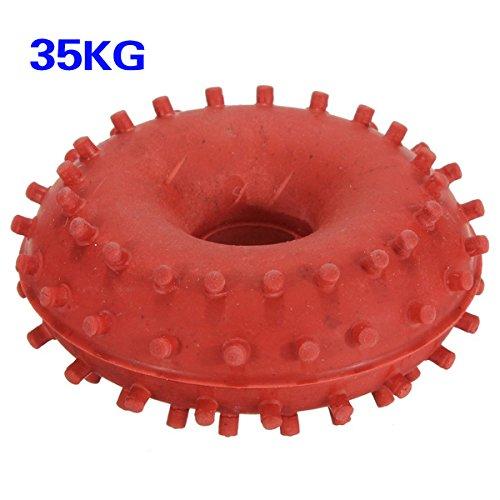 SODIAL (R) Grip en caoutchouc de 35 kg a la main Pince Pro peripherique Anneau de musculation de Fitness Power