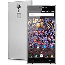 "Doogee F5 - Smartphone libre 4G Lte (Pantalla 5.5"", 16 GB, Cámara 13 Mp, Android 5.1, Octa Core 64bits, Wifi, Bluetooth), Plateado"