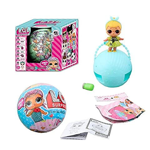 Lishy New LOL Surprise Dolls Series 1Balls L.O.L. Dolls In Box Festival Gift with Mix-&-Match Accessories for Children Kids Boys Girls