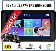Elebest City 70KA Navigationsgerät Navi Navigation 17,8cm 7Zoll Touch Display 24GB Speicher PKW LKW Wohnmobil Auto Bluetooth