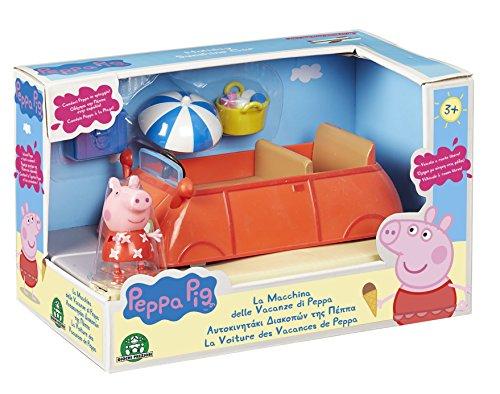 Peppa Pig - Pph00 - La Voiture des Vacances avec 1 Personnage