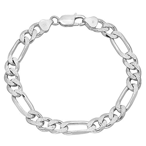 italian-83mm-solid-925-sterling-silver-diamond-cut-figaro-link-bracelet-8-microfiber-jewelry-polishi