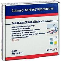 Cutimed Sorbact Hydroactive Kompressen 7x8,5 cm 10 stk preisvergleich bei billige-tabletten.eu