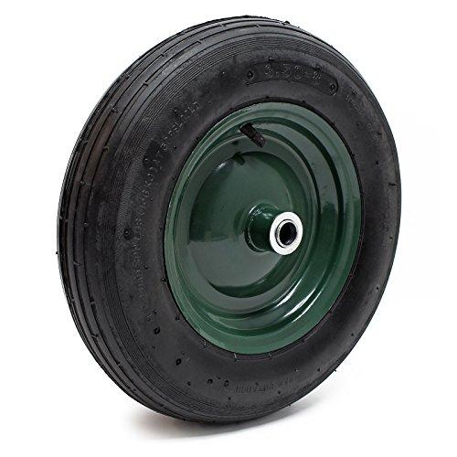 Schubkarrenreifen Räder Luftrad Luftreifen Schubkarre 370-380x80-100mm Reifen
