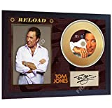 SGH SERVICES New! Tom Jones Sex Bomb Reload Music - Mini CD in Vinile Dorato con autografo