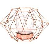 Jones Home & Gift Portavelas geométrico Octogonal