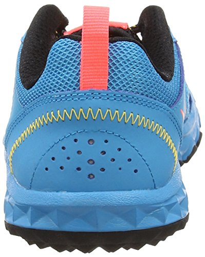 Nike Wild Trail, Chaussures de Trail femme Bleu (blue Lagoon/hot Lava/black/laser Orange)