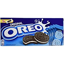 Oreo - Original - Galletas rellenas - Caja de 5 packs - 5 x 44 g - [pack de 4]