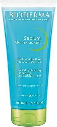 Bioderma Sebium Gel Moussant, Blue, 200 ml
