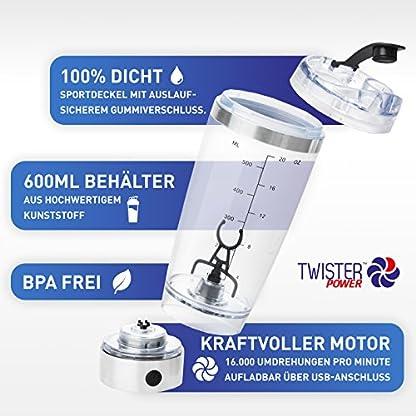 Twister-Power-das-Original-portable-Mixer-elektrisch-mit-USB-Ladekabel-und-Netzstecker-Cocktail-Shaker-Fitness-Eiwei-Mixer-Blender-Wasserwirbler-fr-hexagonales-Wasser-energetisiertes-Wasser