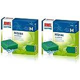 Juwel Compact Nitrax Schwamm Filter Media (Bioflow 3.0) * ECHTE * (2Stück) Bundle