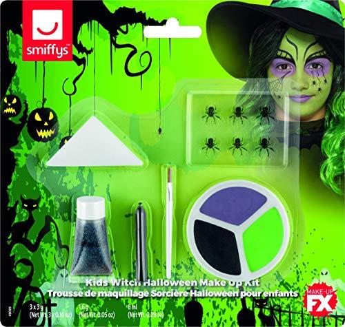 Generique - Hexen-Schminkset für Kinder Halloween-Make-up bunt