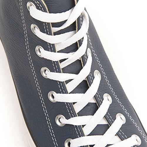 Converse Chuck Taylor All Star Core Lea Hi, Baskets mode mixte adulte Blau (Bleu Nuit 52)