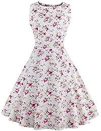 E-Girl M128518D Robe de bal Vintage pin-up 50's Rockabilly robe de soirée cocktail,S-XXXXL