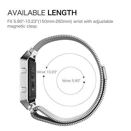 Zoom IMG-3 fintie fitbit blaze cinturino con