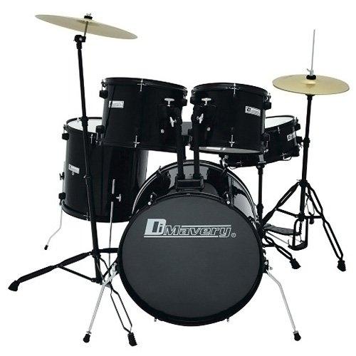dimavery-26001360-ds-200-schlagzeug-set-schwarz