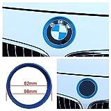 Emblem Trading Emblem Zierring Rahmen Vorne Blau Passend Für 3 4 3er 4er M3 M4 GT