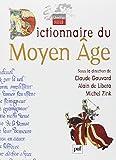 Dictionnaire du Moyen Age