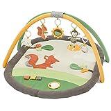 Fehn 061147 3-D-Activity-Decke Sunshine | Spielbogen mit 5 abnehmbaren Spielzeugen für Babys Spiel & Spaß von Geburt an | Maße: 80x105cm