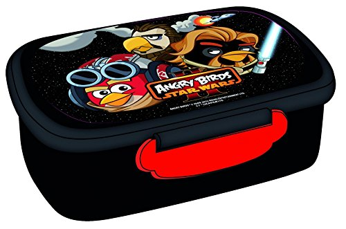 Angry Birds Boîte à Pain + cuillère Snack Pot Lunch Box Angry Birds Acier