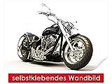 XXL-Tapeten selbstklebendes Wandbild Motorcycle – leicht zu verkleben – Wallprint, Wallpaper, Poster, Vinylfolie mit Punktkleber für Wände, Türen, Möbel und alle glatten Oberflächen von Trendwände
