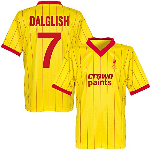 1982 Liverpool Away Retro Trikot + Dalglish 7 - L