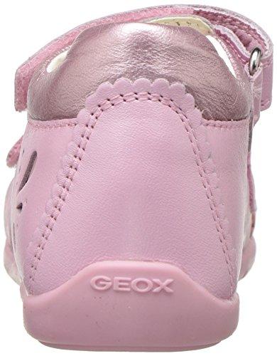 Geox B Kaytan C, Scarpe Primi Passi Bimba Rosa (Lt Pinkc8010)