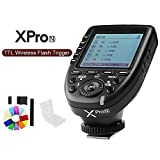 #5: Godox Xpro-N E-TTL II 2.4G Wireless Flash Trigger High Speed Sync 1/8000s X System with LCD Screen Transmitter for Nikon (Black)