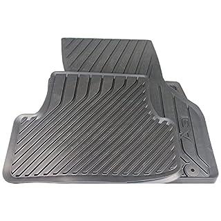 Audi 8V1061501041 Gummifußmatten Vorne, Schwarz, 2 Stück