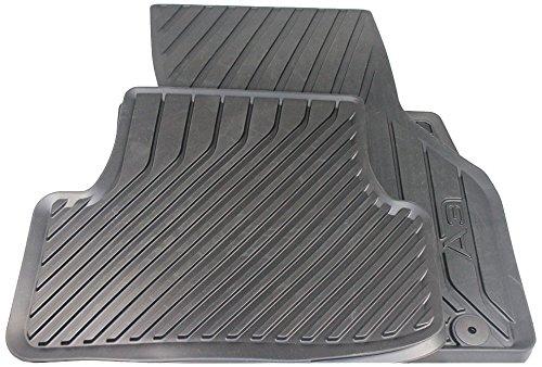 Audi 8V1061501041 Gummifußmatten vorne schwarz A3 2 Stück