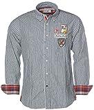 ARQUEONAUTAS® Streifen Hemd gestreift Navy S