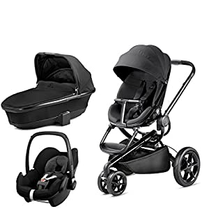 Quinny Moodd with Carrycot Black Devotion and Pebble Black Devotion   6