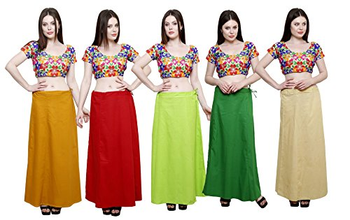 Pistaa combo of Women's Soft Cotton Mustard, Maroon, Parrot Green, Pak Green...