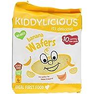 Kiddylicious Gluten Free Banana Wafers, 160 g, Pack of 4