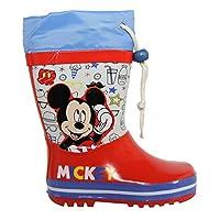 Disney Boy Wellington Boots 2300-284 Rojo