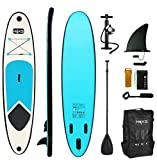 HIKS Blue 10ft / 3m Stand Up Paddle SUP Board Set Inc Paddle