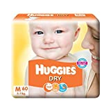 #6: Huggies New Dry Medium Size Diapers (60 Counts)