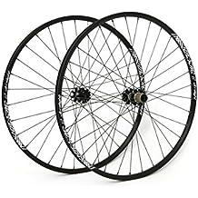 "Msc Bikes MSCULTRA29XC Juego Ruedas Ultralight, Negro, 29"""