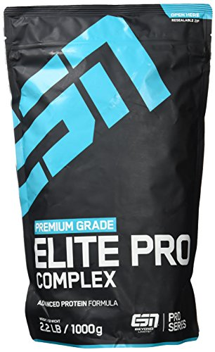 Image of ESN Elite Pro Complex Protein, Strawberry, 1000g Beutel