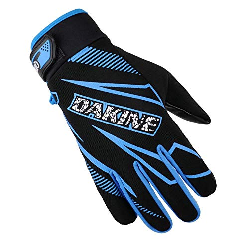 Adisaer Touch Screen Handschuhe Herbst Winter Radfahren Slip Plus Samt Outdoor Fitness Handschuhe Blue One Size Alpinestars Slip