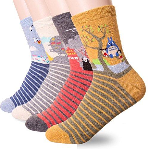 Halloween Monkey Sock (JYsense Damen Socken Einheitsgröße Gr. Einheitsgröße, Hawl)