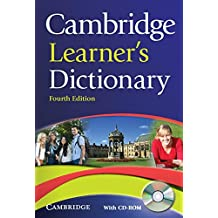 Cambridge Learner's Dictionary 4th Paperback with CD-ROM