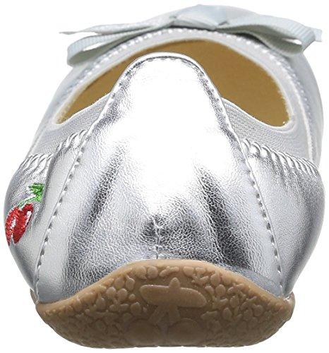 Le Temps des Cerises Lc Lilou, Chaussures de ville mixte enfant Argent (Silver)