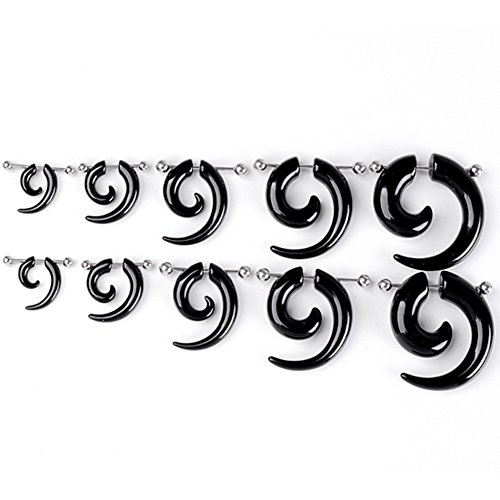 piercingj-non-piercing-paar-acryl-edelstahl-taper-horn-klaue-ohrstecker-ohrpiercing-stud-illusion-sp
