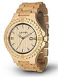 LAiMER orologio da polso in legno | 100% legno acero | 100% prodotto naturale, ipoallergenico,...
