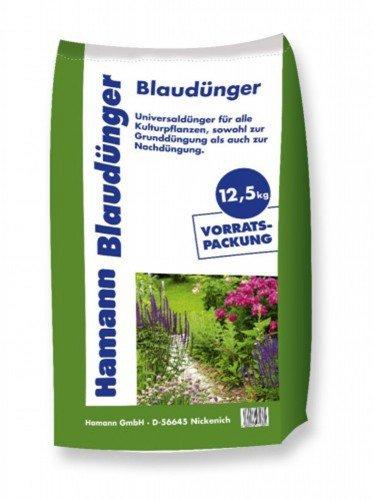 Blaudünger 25 kg (2x 12,5kg Sack) Blaukorn Dünger Rasendünger Volldünger