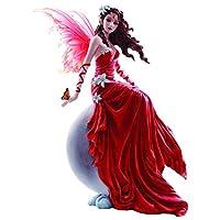 Nemesis Now Crimsonlily Nene Thomas Figurine 24cm Red